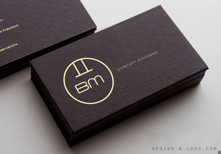 Bm Concept Kitchens Business Card
