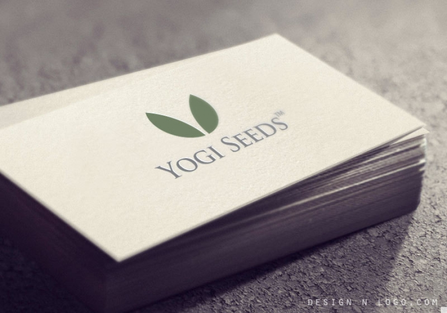Yogi seeds business card design colourmoves