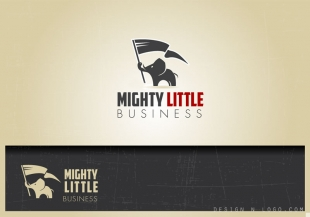 Little Mighty Business logo design