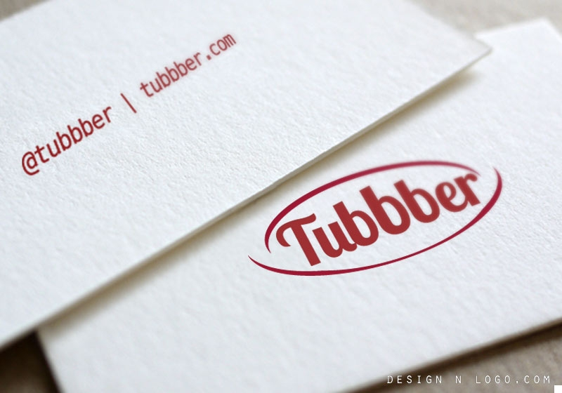 Tubbber online store logo