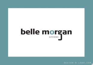 Belle Morgan logo design