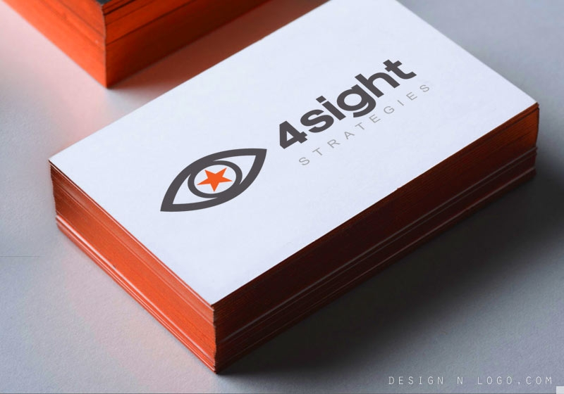 Forsight Communication Strategy logo design